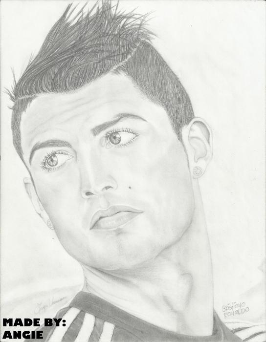 Cristiano Ronaldo par Anngie